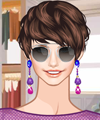 Purple and Blue Dress Up Game