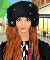 Winter Streetshot Dress Up Game