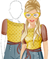 Fashion Studio Retro Outfit Design Game