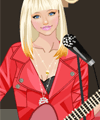 Street Guitar Performance Dress Up Game