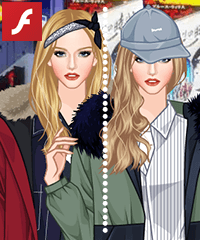 Pretty Parka Dress Up Game