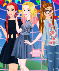 Princess Homecoming Dress Up Game