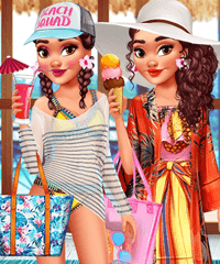 Moana Paradise Escape Dress Up Game