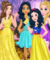 Disney Princess Graduation Ball Dress Up Game