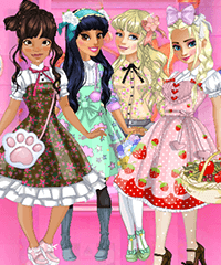 Lolita Princess Party Dress Up Game