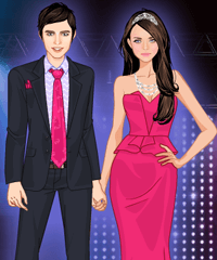 Pink Prom Dress Up Game