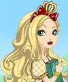 Apple White Ever After High Dress Up Game