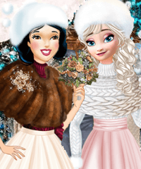 Princess Winter Wedding Ideas Dress Up Game
