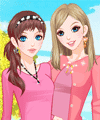 Kiss of Sunshine Dress Up Game