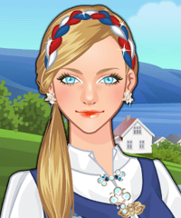 Norwegian Girl Make Up Game
