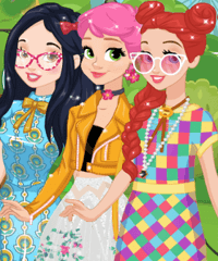 Disney Girls New Spring Trends Dress Up Game