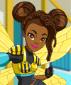 Bumblebee DC Super Hero Girls Dress Up Game