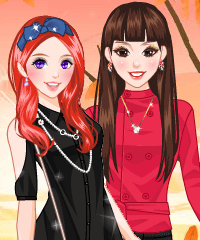 Autumn Breeze Dress Up Fashion Game