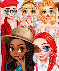 Princesses Style Wish List Dress Up Game
