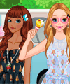 Ice Cream Girls Makeover Game