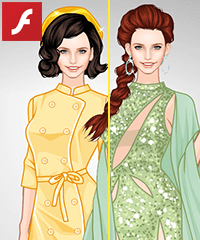 Jaqueline Style Dress Up Game