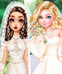 Celebrities Couture Ariana Taylor Wedding Dress Game