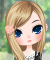 Black and White Fashion Dress Up Game