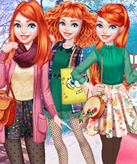 Merida Year Round Fashionista Dress Up Game