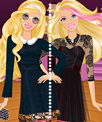 Barbie My Little Black Dress Game