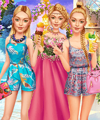 Gigi Hadid Year Round Fashion Dress Up Game