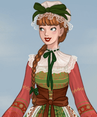 French Folklore Dress Up Game