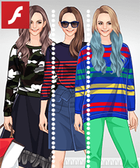 Knitted Fashion Dress Up Game