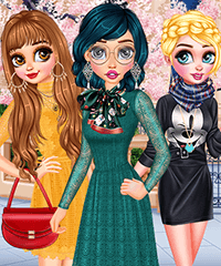Princesses Choose Your Style Dress Up Game