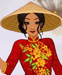 Ao Dai Vietnam National Garment Maker Game