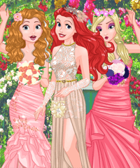 Ariels Wedding Photography Dress Up Game