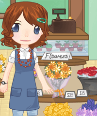 Flower Shop Dress Up & Decoration Game
