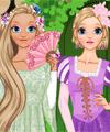 Rapunzel Long Hair and Short Hair