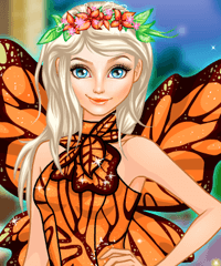 Elsa Fairy Dream Dress Up Game