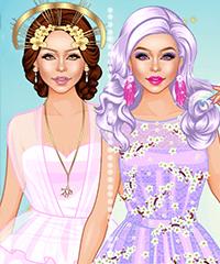 Goddess Dress Up Game