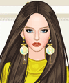 Bright Yellow Dress Up Game