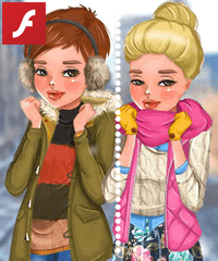 Winter Layering Tips and Tricks Dress Up Game