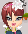 Maria Flower Shop Dress Up Game