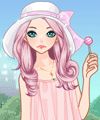 Girls Love Candy Dress Up and Makeover Game