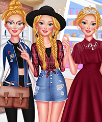 From Small Town to Big City Dress Up Game