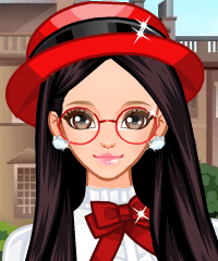 School Lolita Dress Up Game