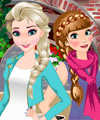 Cool Frozen Sisters Dress Up Game