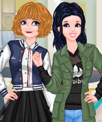 Princess Style Guide Sporty Chic Dress Up Game