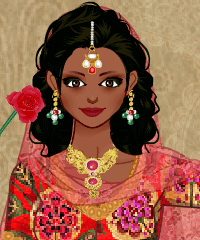 Indian Traditional Costume Design Game