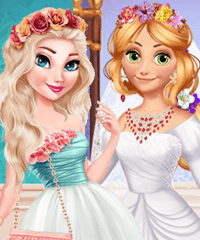 BFFs Wedding Prep Dress Up Game