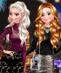 Princesses Las Vegas Weekend Dress Up Game