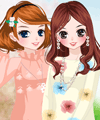 Flowers Can Talk Dress Up Game