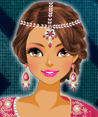 Indian Style Make Up Game