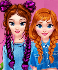 Cool Denim Outfits Dress Up Game
