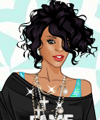Rihanna Fashion Dress Up Game