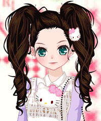 Hello Kitty Gear Dress Up Game